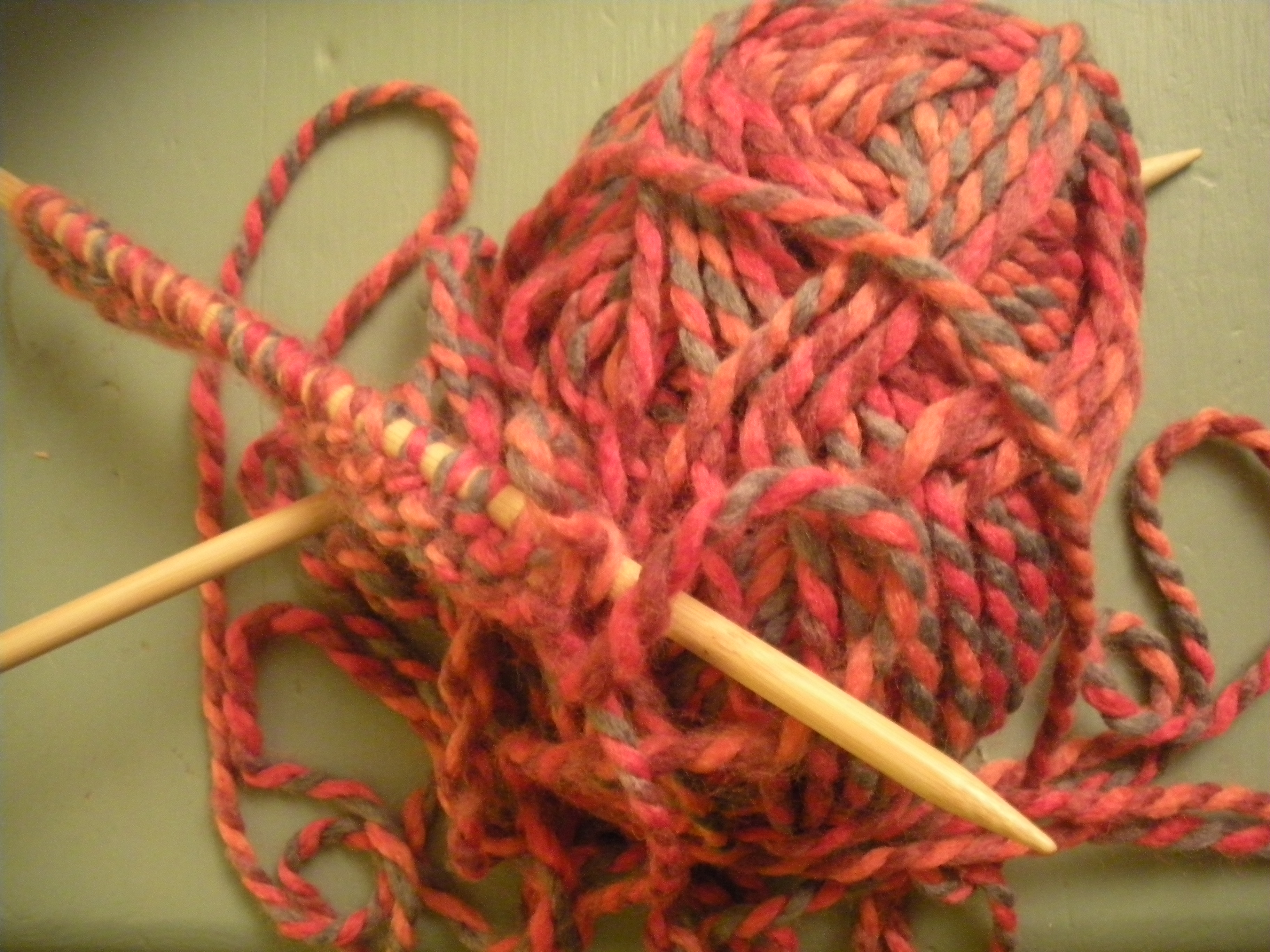 Knitting Knotty : Knitting day…time to get knotty homespun haley